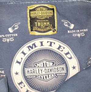 Trunk Ltd Tops - Rare Trunk Ltd Harley Davidson Halter Top